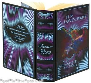 LEATHER BOUND HP LOVECRAFT The Complete Fiction - Weird Tales BRAND NEW - Sealed