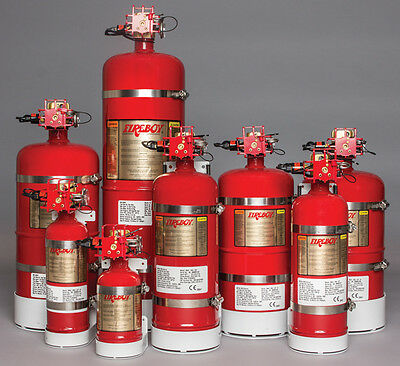 Fireboy CG20100227 Spontaneous Discharge Fire Extinguisher System 100 cubic feet
