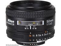 Nikon 50mm f/1.4D Lens