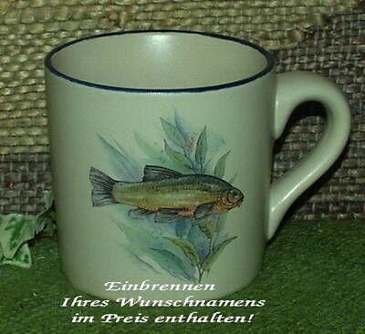 Motiv - mit Wunschname - Fisch - Schleie - 1 Motiv (Fisch-tasse)