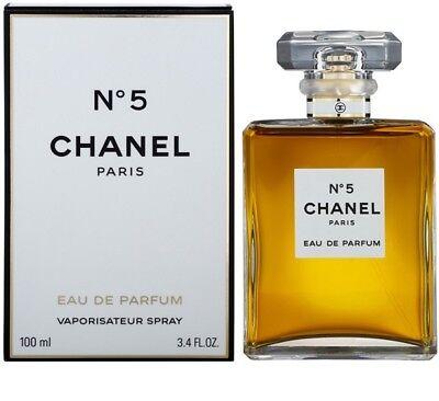 Chanel No 5 3 4Oz Womens Eau De Parfum 100Ml Brand New 3 4 Oz
