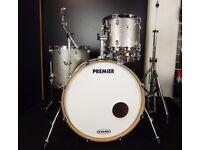 Premier Drum kit - Artist Birch Silver Sparkle