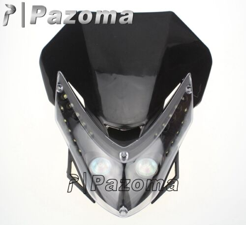 Street Fighter Head Light Fairing For Kawasaki Ex 250
