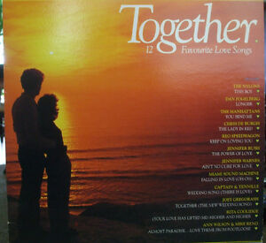 Together-12 Favourite Love Songs from the 1970s & 1980s on LP