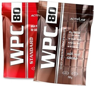 ACTIVLAB Whey Protein Concentrate 700g Standard WPC 80 - Best Protein Optimum