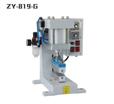 Automatic Stamper Pneumatic Hot Foil Stamping Machine Logo Leather Wood 220v Ah