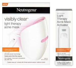 Neutrogena Light Therapy Acne Mask + extra activator