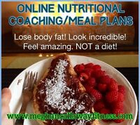 Online nutritional coaching. 50% off sale. 2 days only. Lose fat