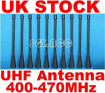 10x UHF Antenna Motorola Radio SP50 SP10 P10 P50 P100 P110 P200 P210 P1225