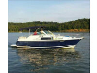 2001 Chris Craft 26 Constellation with Volvo 5.7GXI and Double Axle Trailer