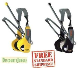 NEW COBY CX-22 Walkman AM/FM Stereo workout Headset Radio Ultra Slimline--BLACK