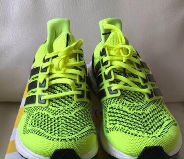 Adidas Ultra Boost volt green us8