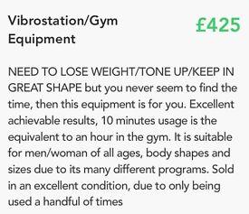 Vibrostation /gym equipment