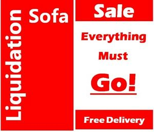 EVERYTHING MUST GO*AFFORDABLE,QUALITY Fabric Sectional Sofa bed