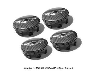 Noble Style Wheel Center Caps 4EA 1Set for Genesis Coupe 2009 2014