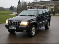 Jeep Grand Cherokee 4.7 V8 Limited Station Wagon 4x4 5dr 75k warranted miles