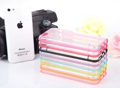 Transparent PC Back Cover TPU bumper Best Hybrid Case For iPhone