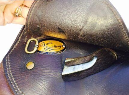 "17"" Bates Caprilli AP Saddle"