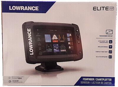 Lowrance Elite-7 Ti2 GPS CHIRP + Active Image 3-1 Transducer + CMAP US Inland