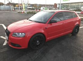 AUDI A3 TDI S LINE QUATTRO may part/ex swap