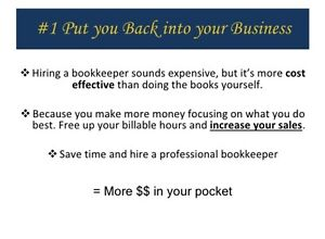 Bookkeeping and Income Taxes  Cambridge Kitchener Area image 1