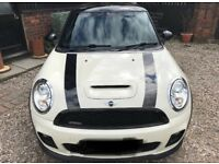Supercharged Mini Cooper S with John Cooper Body Works Kit