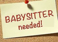 LOOKING FOR A OCCASIONAL BABYSITTER