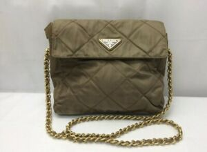 c320922d5e07 AUTHENTIC PRADA RARE CROSSBODY WITH GOLD CHAIN PAID  1500  650