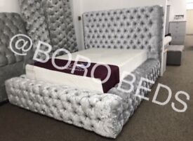 HIGH QUALITY- CRUSHED VELVET BEDS 🇬🇧