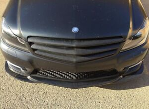Carbon grille for Mercedes C class