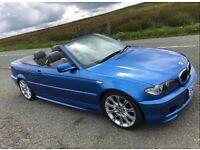 2005 BMW 320CI M SPORT CONVERTIBLE - E46 3 SERIES - ESTORIL BLUE