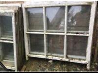 Vintage Wooden Sash Windows Upcycle Interior Design Bar Developer Builder