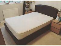 Double bed & Memory Foam Mattress