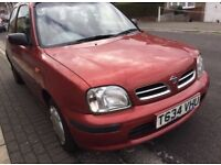 Nissan Micra 1.0 Red 3-dr only 90K with 12 Months MOT £480