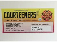 2 courteeners tickets emirates old trafford 27th May