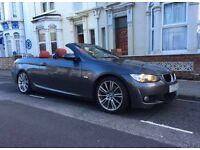 BMW 320D CONVERTIBLE M SPORT AUTO 58 PLATE SAT NAV