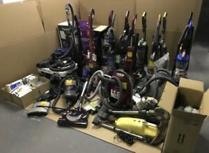 AS-IS ASSORTED VACUUMS AND ACCESSORIES TO FIX OR FOR PARTS