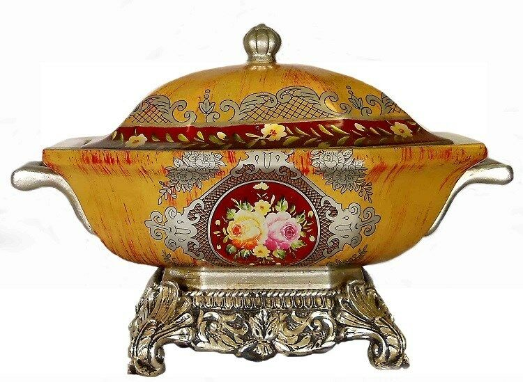 Ceramic Soup-tureen shape pottery / Center piece / Home decorative