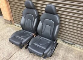 Audi A5 8t coupe s line leather seats interior black