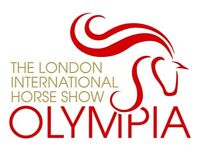 2x Olympia Horse Show Front Row tickets - Sunday 17th December