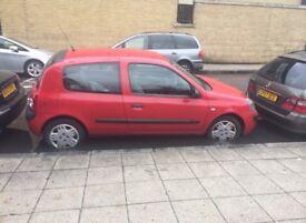 Spares of repairs: red Renault Clio campus, 2008 , head gasket problem.