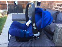 Britax Romer Baby Car Seat & Iso Fix