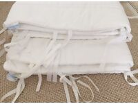 Little White Company cot bumpers