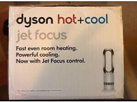 Brand new Dyson AM09 Hot + Cool fan heater