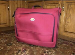 Luggage - 2 wheel roller garment bag.