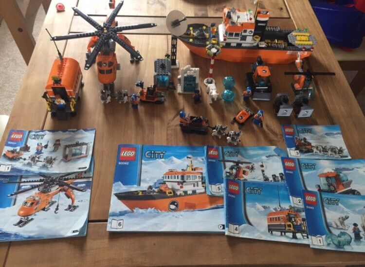 Lego City Arctic Bundles - Retired Set