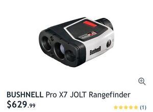 Brand new Bushnell pro x7 jolt rangefinder