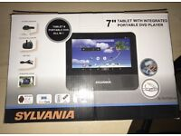 """7"""" ANDROID TABLET WITH BUILT IN DVD PLAYER"""