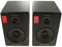 M-Audio BX8a Deluxe active monitors