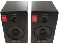 M-Audio BX8a Deluxe Active Monitors